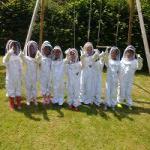 Photos de la visite chez l'apiculteur notre voisin! (Mise à jour 5 Juin)