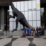 instantané de la visite de nos P3/P4 au Musée des Sciences Naturelles